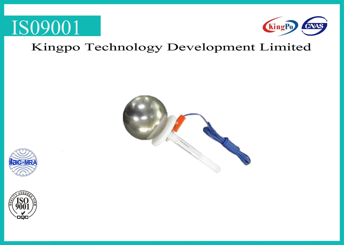 Professional IP Testing Equipment IEC 60529 Test Sphere With Handle 50mm