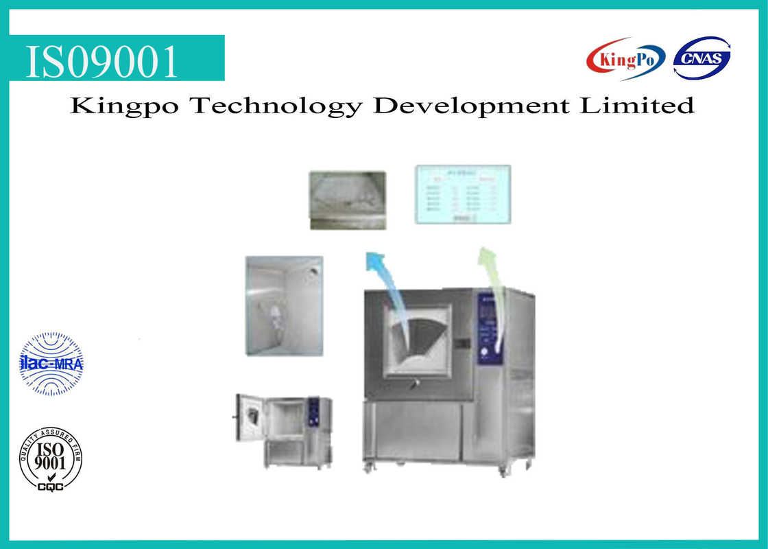 Funnel Type Dust Test Chamber High Performance KP-SC-500 / KP-SC-1000